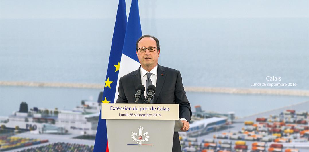 Discours du Président François Hollande à la Première-Pierre